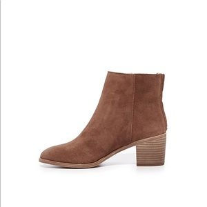 Madewell The Pauline Boots in Suede, Size 6.5